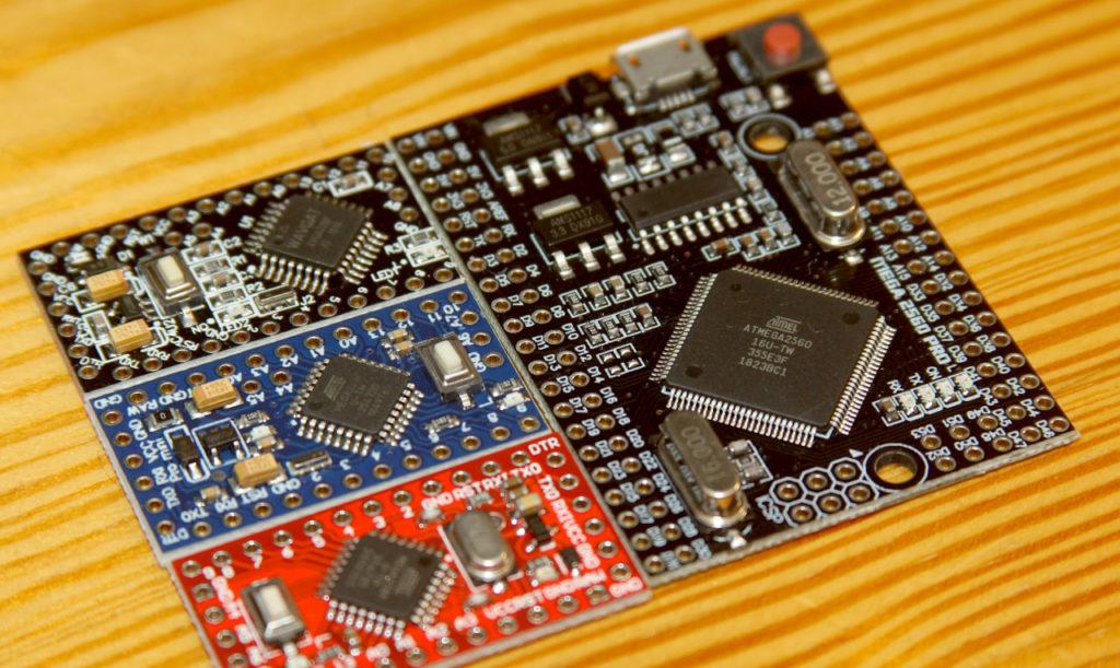 Pro Mini i Pro Mega 2560